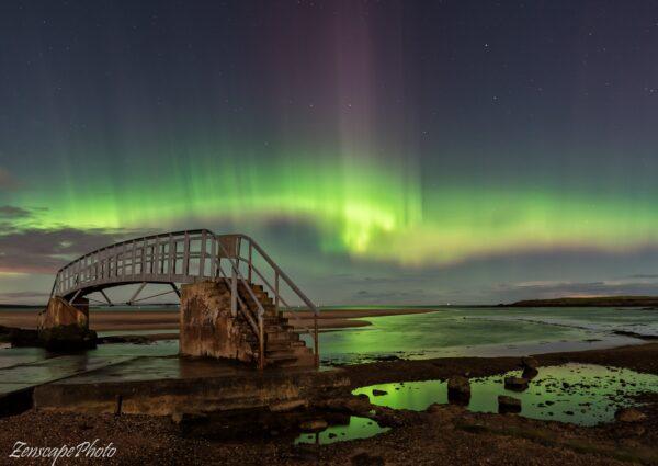 Northern Lights Dunbar Scotland
