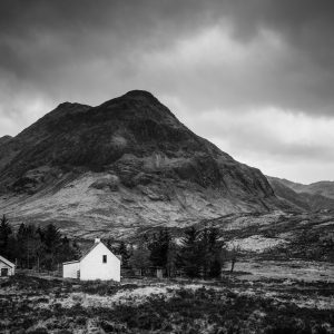 Lagangarbh Hut Glencoe Highland Scottish Wall Art