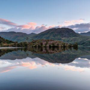 Loch Katrine Sunrise Scotland print