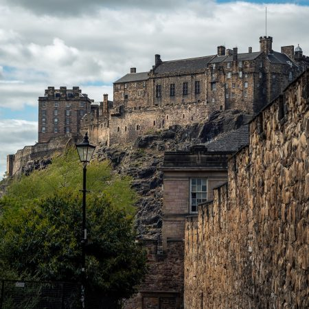 Flodden Wall Edinburgh Castle Landscape Photography