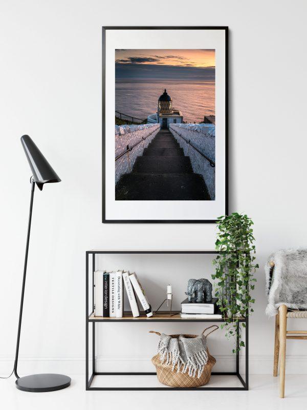 St Abbs Lighthouse Sunrise