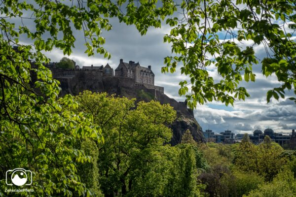Edinburgh Castle Print