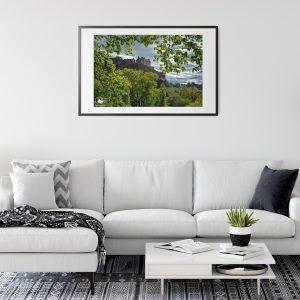 Edinburgh Castle Print Photograph