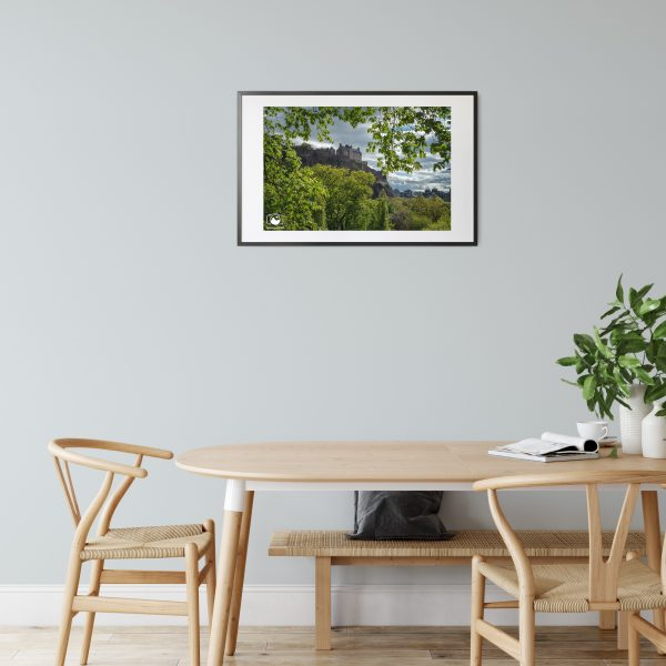 Edinburgh Castle Print Photograph