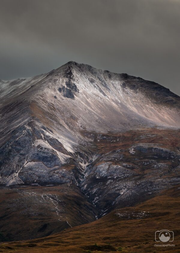 Scottish Highland Fine Art Photography. This image shows a moody scene from the Scottish Highlands.
