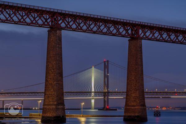 Queensfrerry Crossing, Edinburgh, Forth Bridges, Edinburgh Art, Edinburgh based photographer