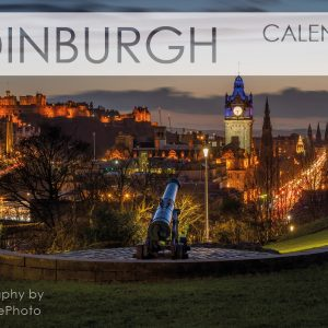 Edinburgh Calendar Night view